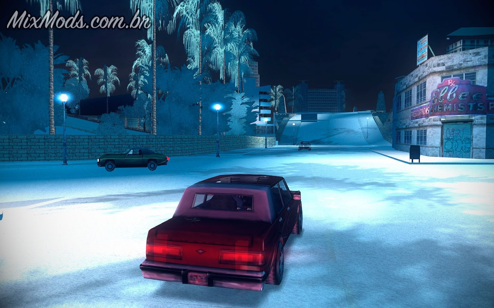 VC] Winter Mod 3 0 (PC / Android) -   MixMods   Mods para GTA SA e
