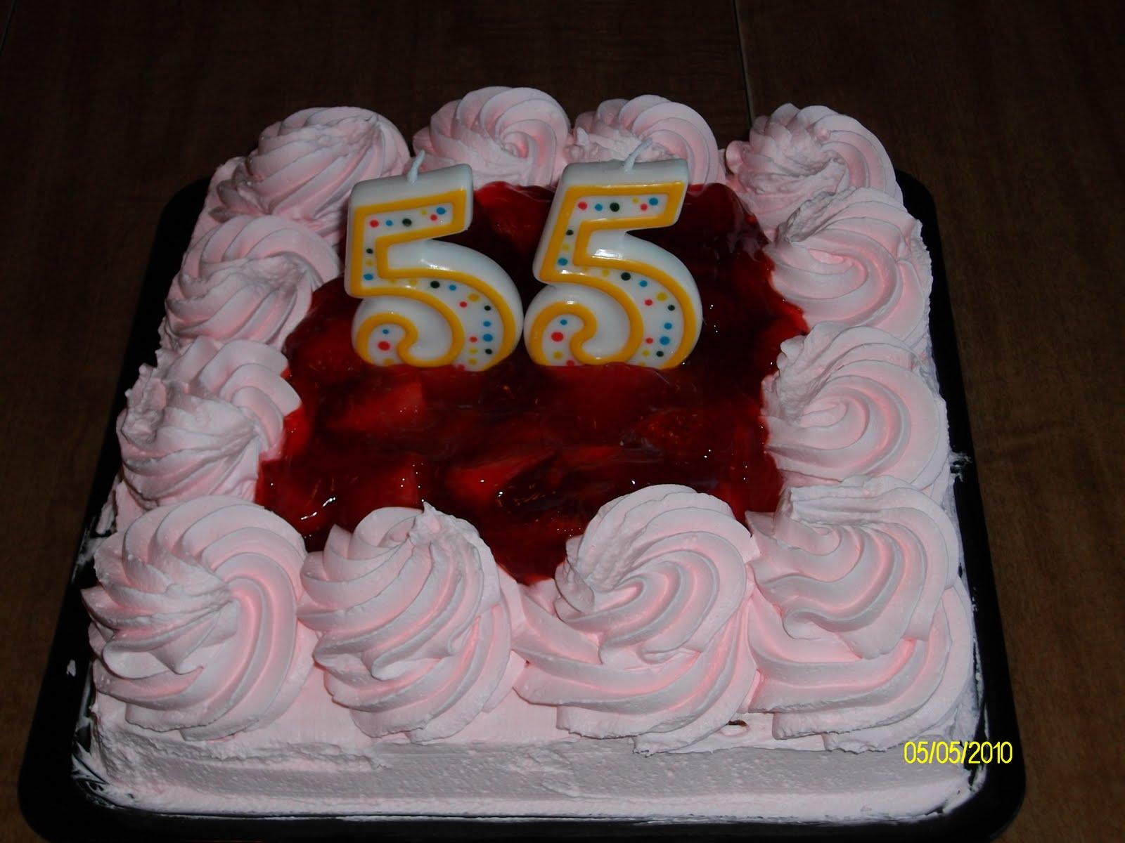 Domestic Goddesss Recipe Box My Husbands Birthday Cake