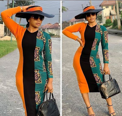 Colorful Short Gown Plain And Pattern  With Long Sleeves