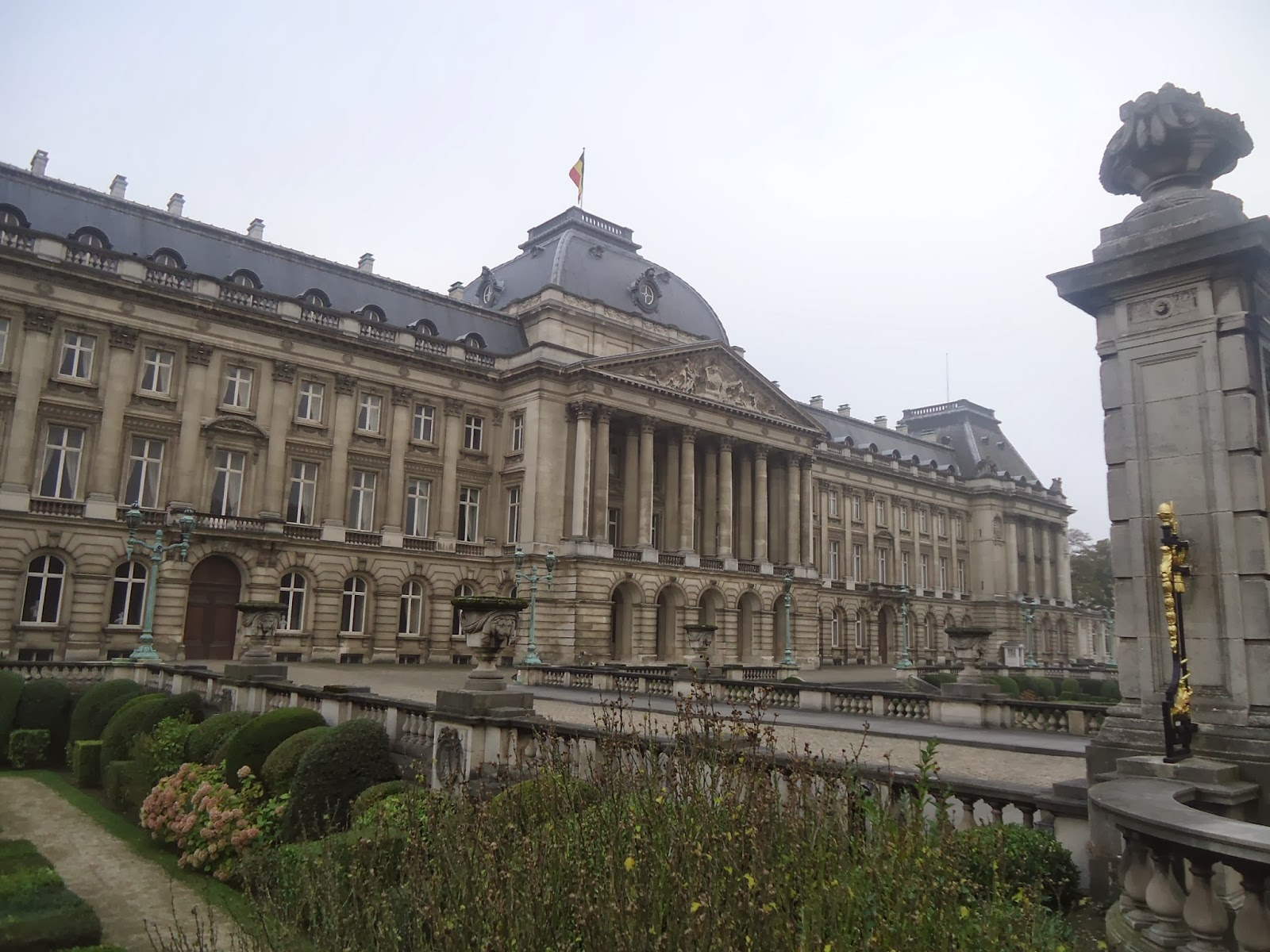 Travel Brussels Royal Palace Belgium