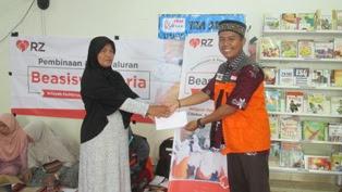 Alhamdulillah, sebanyak 317 Siswa Mendapatkan Beasiswa dari RZ Cilegon