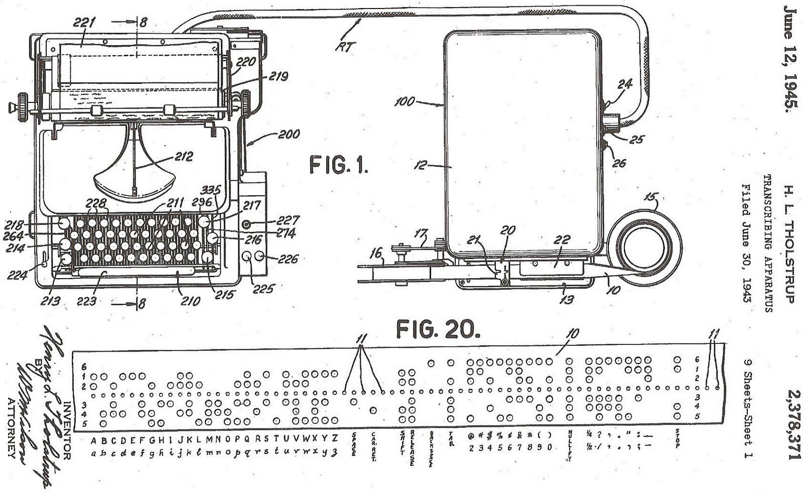 oz.Typewriter: On This Day in Typewriter History (LXVII)