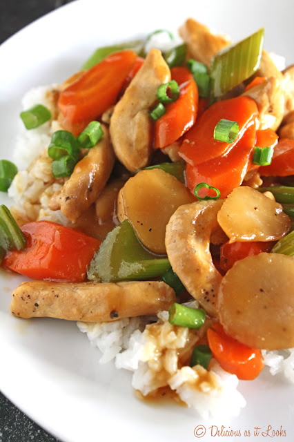 Low-FODMAP Chicken Chop Suey  /  Delicious as it Looks