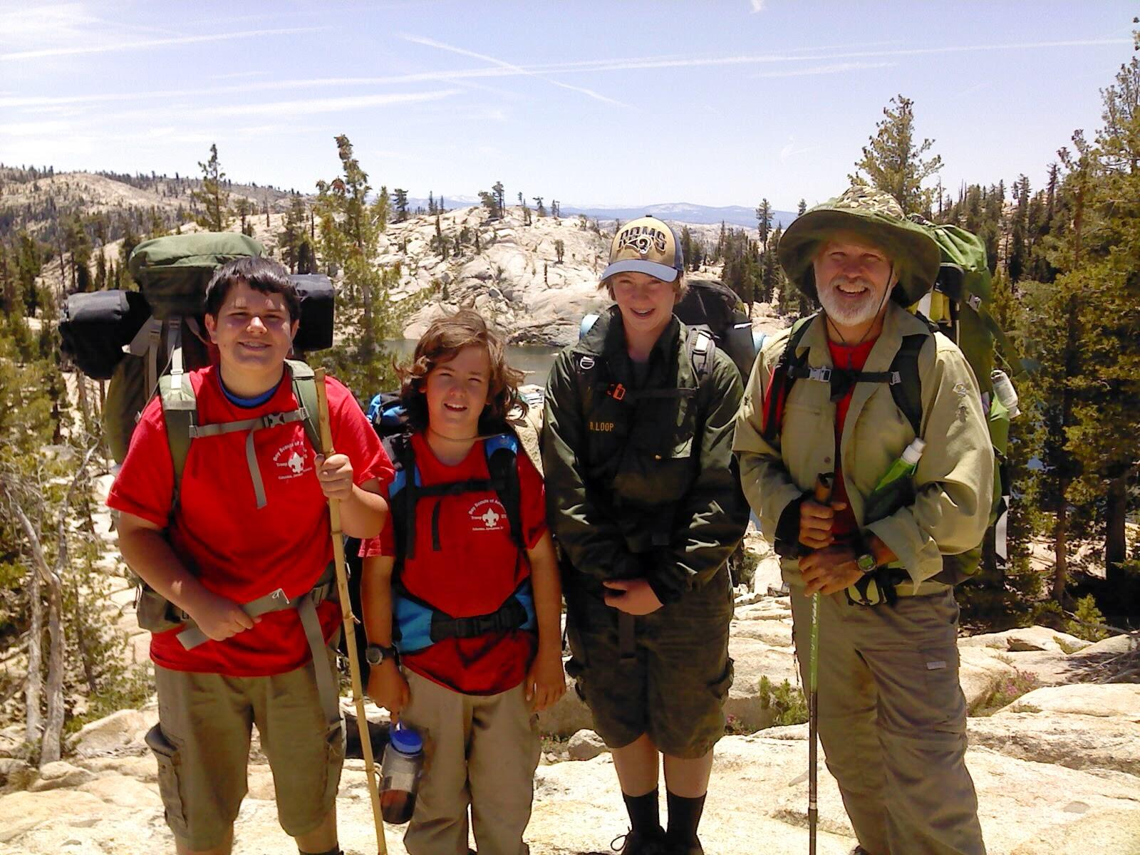 Motherlode Scouting Emigrant Wilderness Loop Backpacking Trip June 20 24