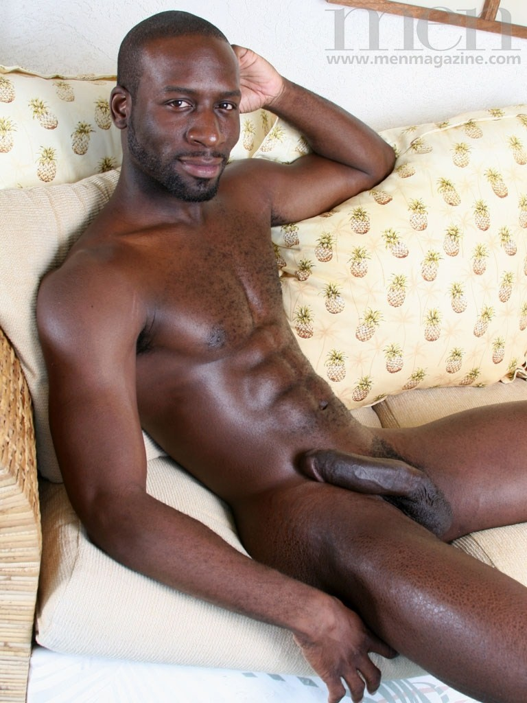 black man nude photo