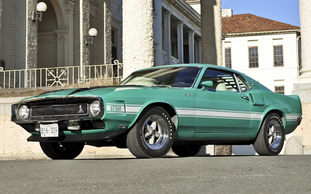Ford Mustang Shelby GT500 1970