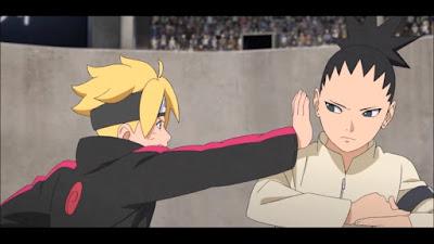 Boruto vs Shikadai