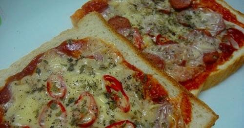Resepi Pizza Roti Gardenia Sedap!! | Aneka Resepi Masakan 2017