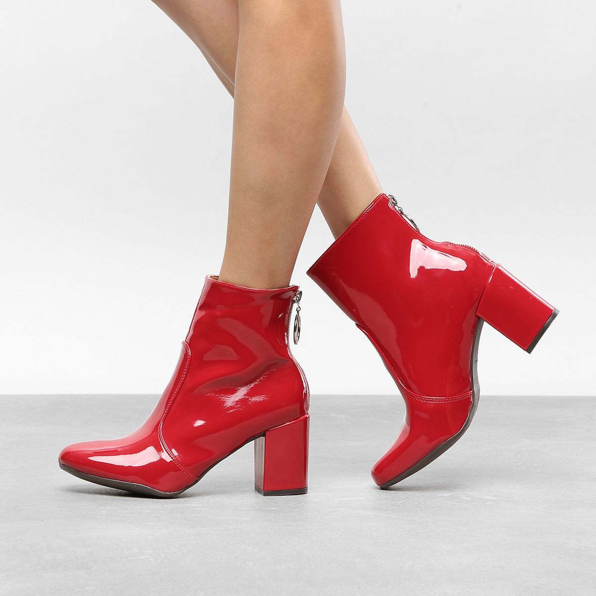 bota vermelha comprar