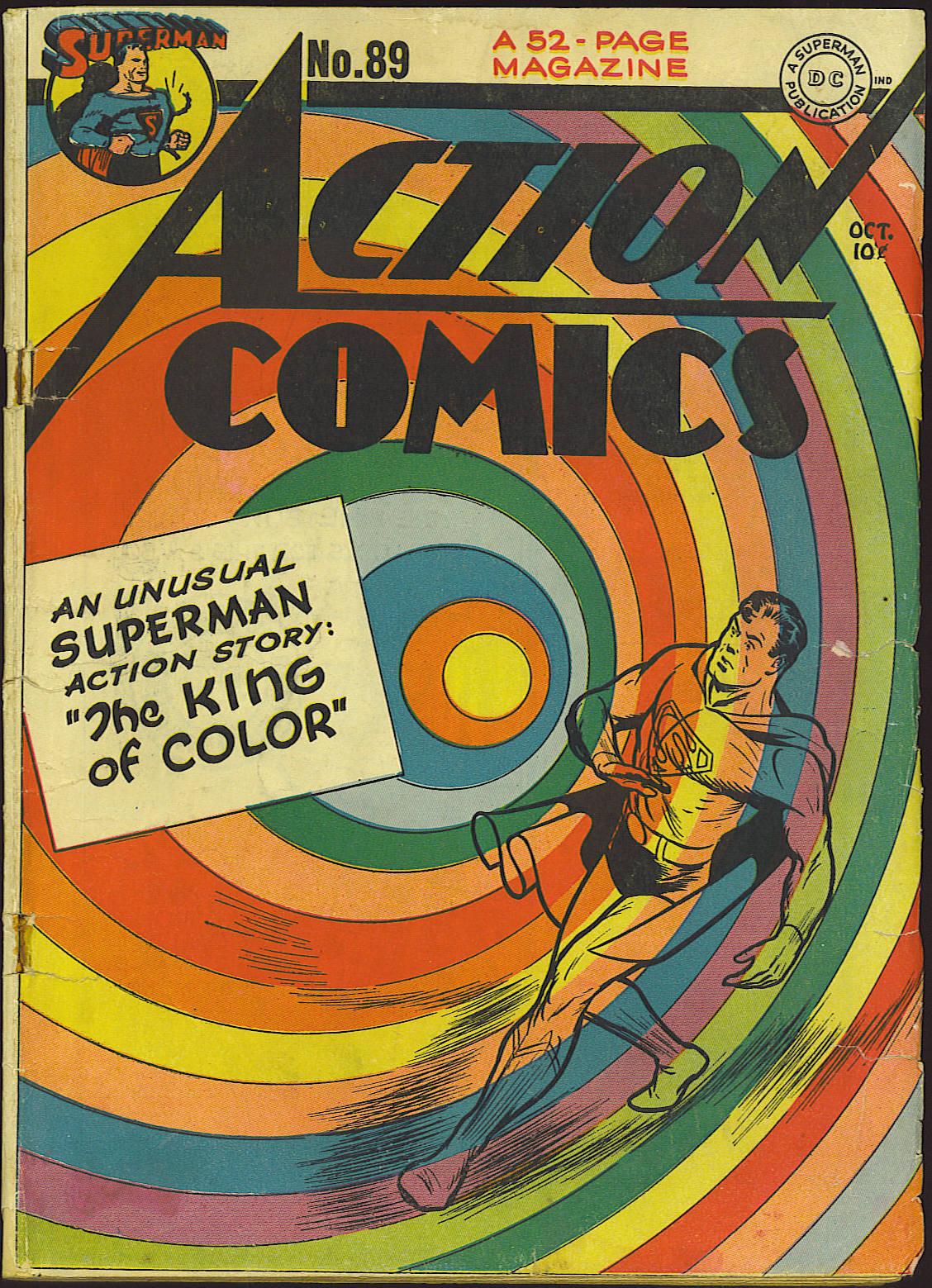 Read online Action Comics (1938) comic -  Issue #89 - 1