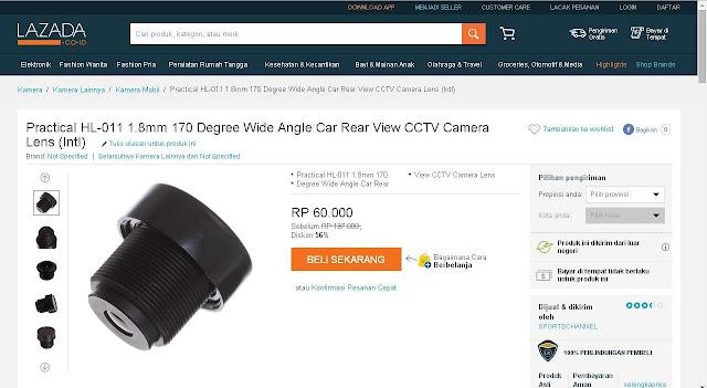 Cara Mengganti Lensa Kamera Drone Hubsan H107c   - GudangDrone