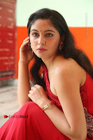 Actress Zahida Sam Latest Stills in Red Long Dress at Badragiri Movie Opening .COM 0133.JPG