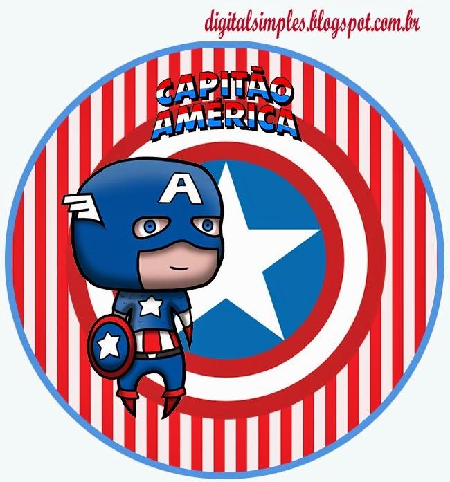 Toppers, Etiquetas o Stickers para Imprimir Gratis..