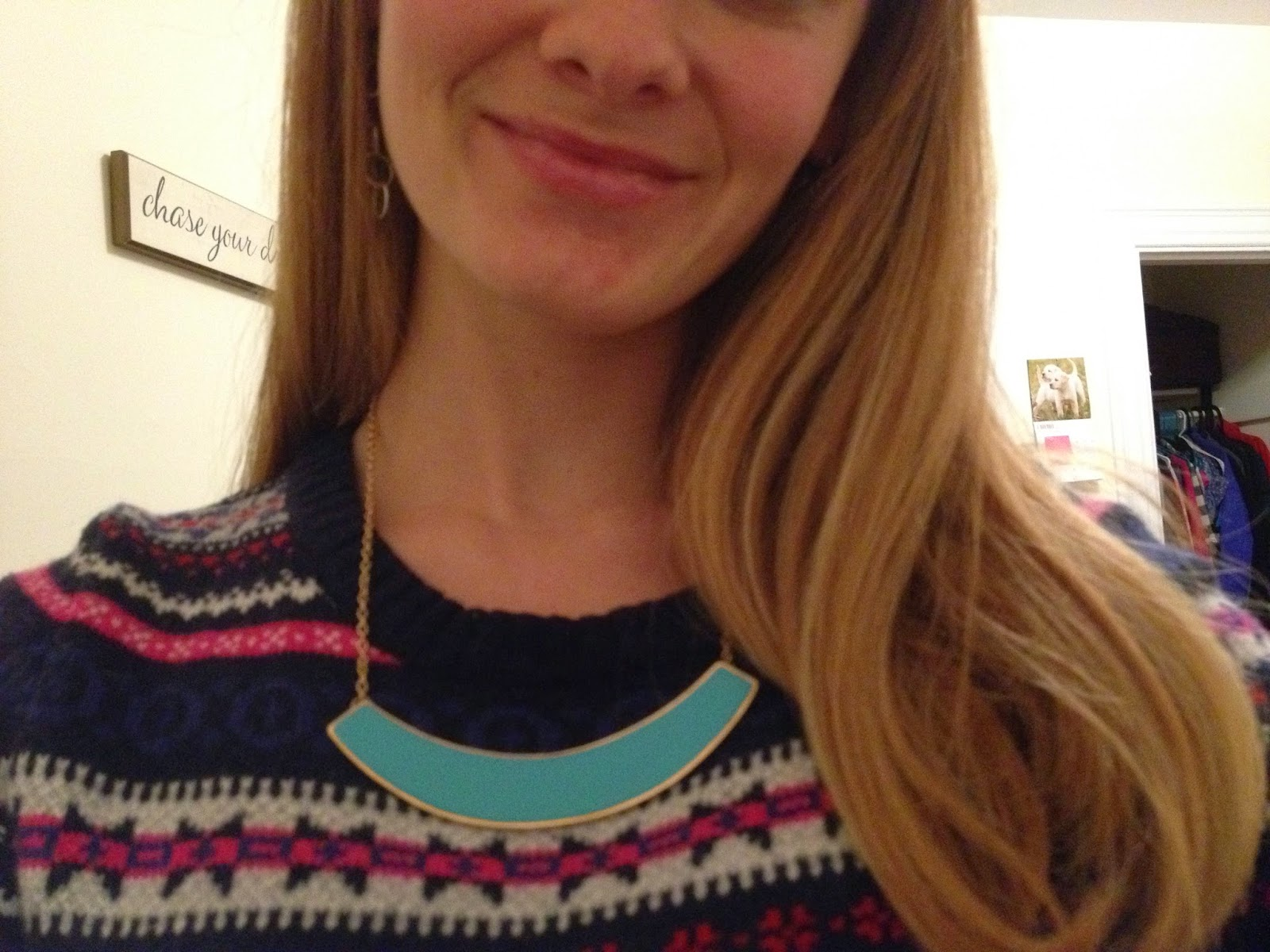 Aquamarine Statement Necklace