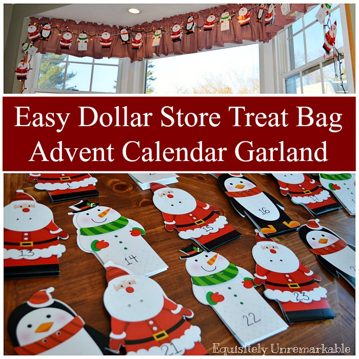 easy and inexpensive advent calendar