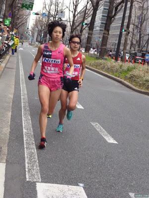 大阪国際女子マラソン優勝重友梨佐選手