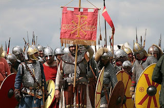 Late Roman soldiers