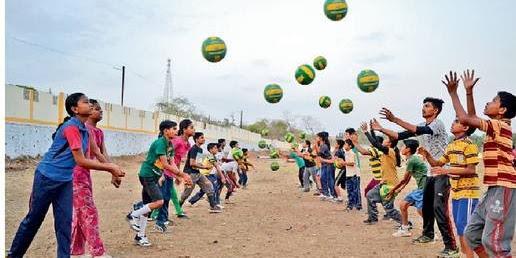 ग्रीष्मकालीन खेल प्रशिक्षण 1 मई से 15 जून तक