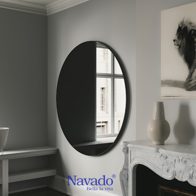 Gương màu - Xu hướng Gương trang trí mới hiện nay