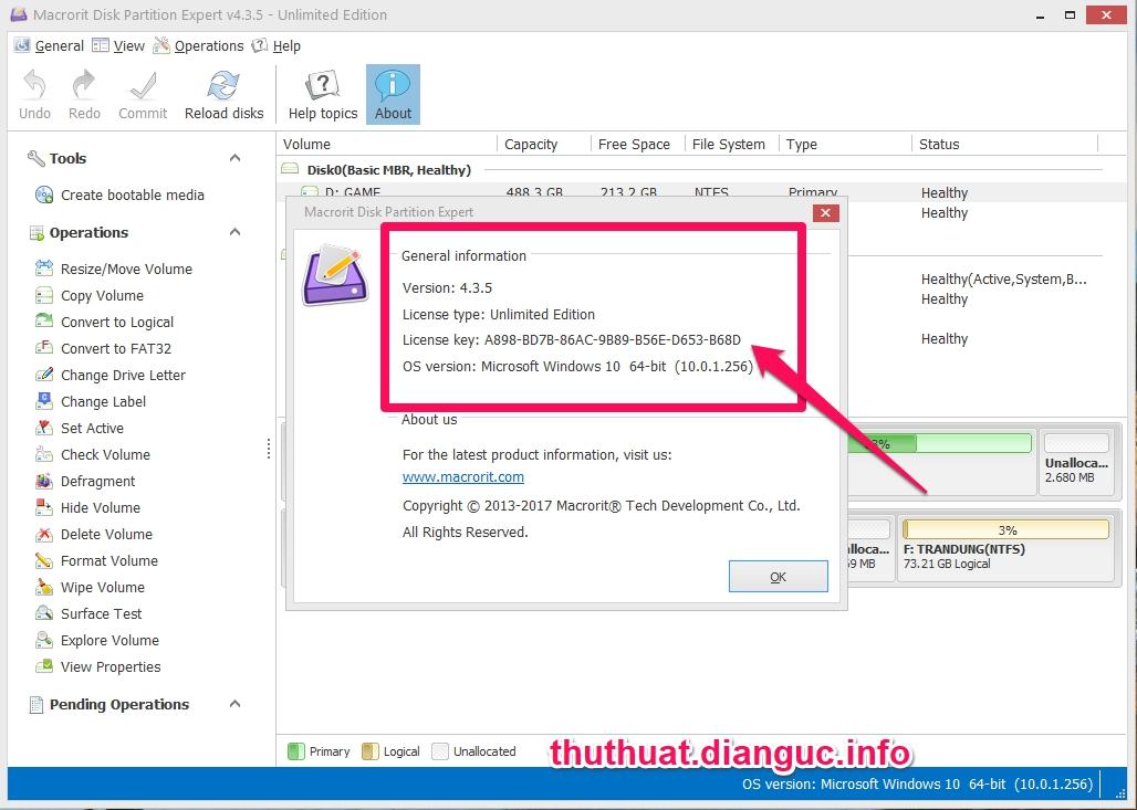 Download Macrorit Disk Partition Expert 5.3.6 Full Cr@ck – Phần mềm quản lý phân vùng chuyên nghiệp