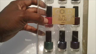 Next Nail Polish Library, Gold Collection