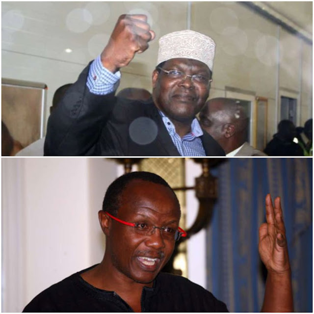 Ndii Vs Miguna War Season 2 Is Here. It's Glorious