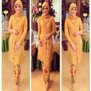 hijab yg cocok untuk kebaya kutubaru