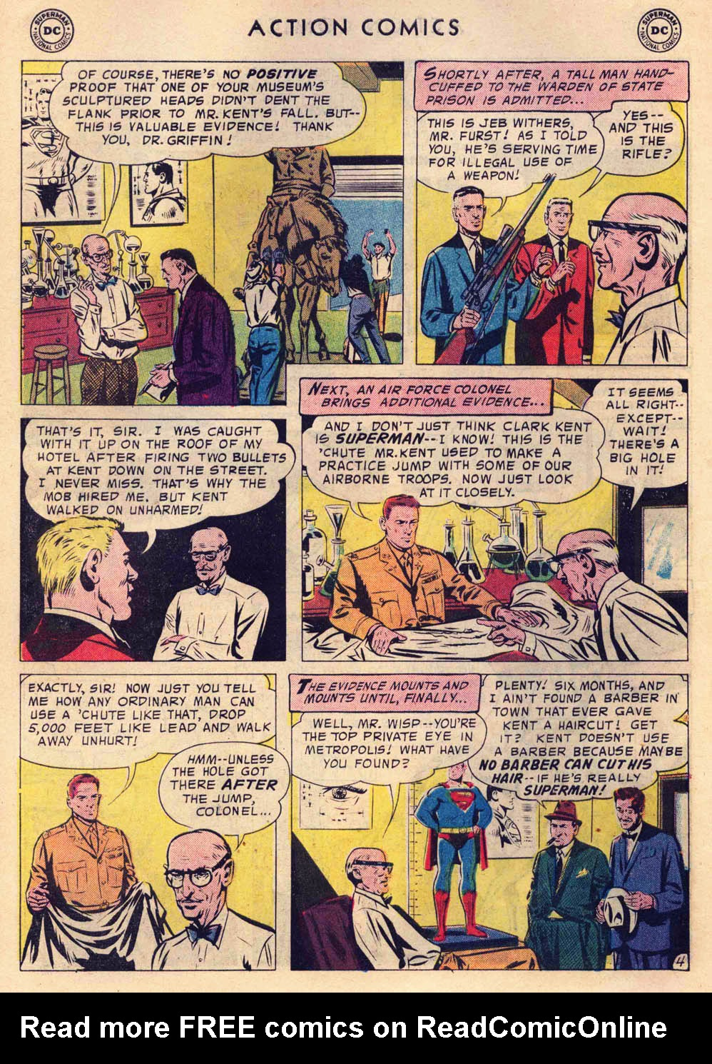 Read online Action Comics (1938) comic -  Issue #237 - 6