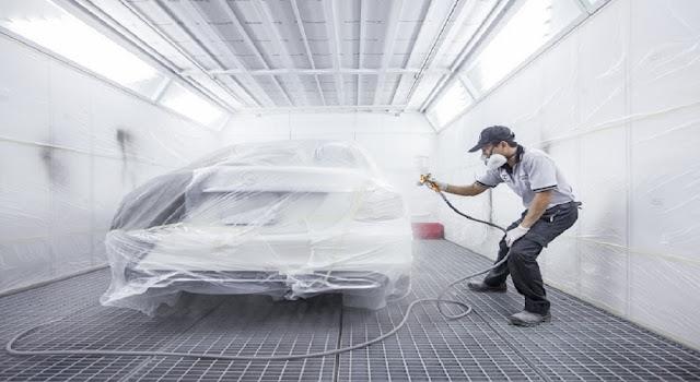 Chất lượng dịch vụ đồng sơn xe Mercedes tại Mercedes Trường Chinh