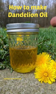Dandelion flowers | make infused oil