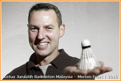 Senarai Jurulatih Badminton Malaysia