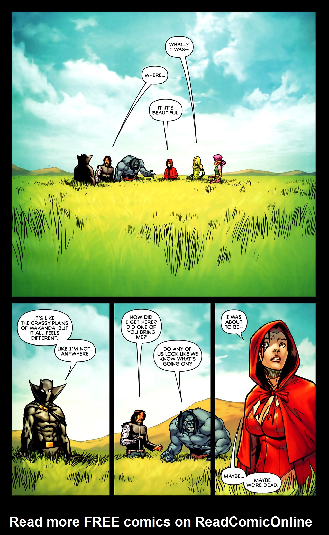 Read online Exiles (2009) comic -  Issue #1 - 14