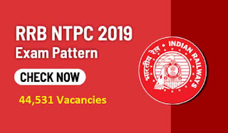 RRB NTPC Exam Pattern 2019