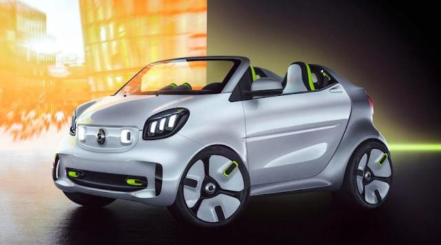 Smart anuncia que su gama será 100% eléctrica