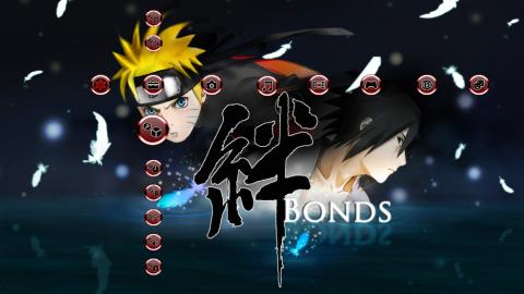 Naruto and sasuke Bonds of friendship PS3 Theme - PS3 Anime Themes