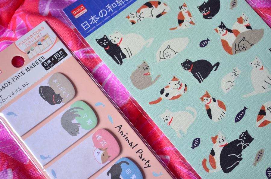 stickere pisici din japonia