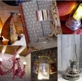 DIY- Lamparas en miniatura- Miniature lamps