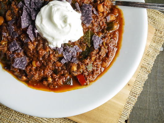 "Lucky ""Game"" Day Chili"