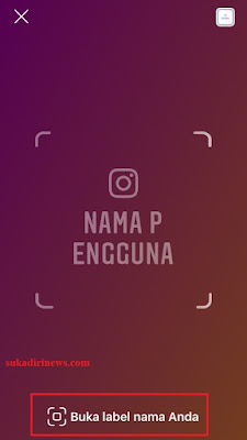 Cara Pindai Tag Nama di Instagram Android dan iOS