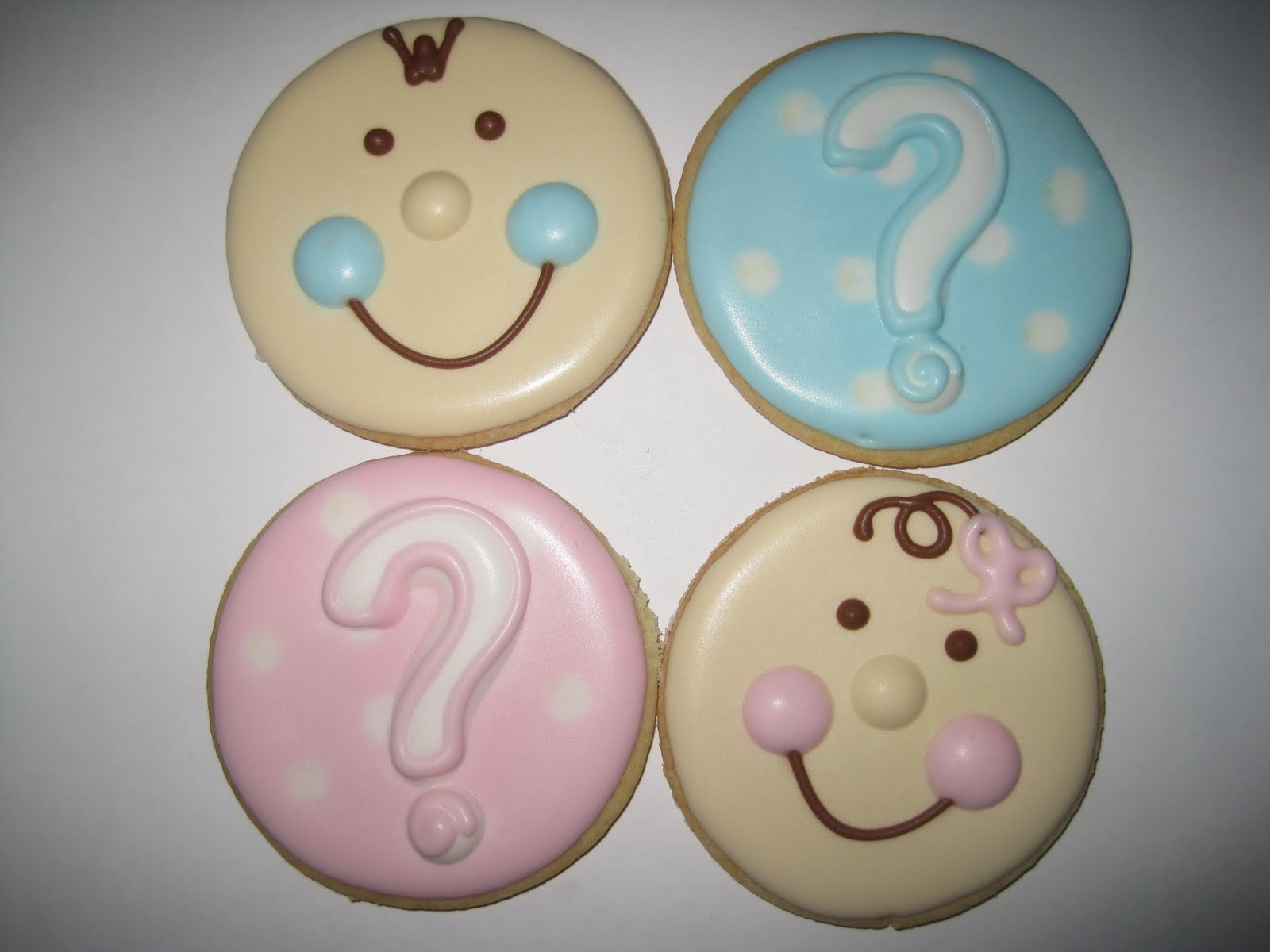 Silly Gilly Desserts Baby Shower  Gender Reveal Cookies