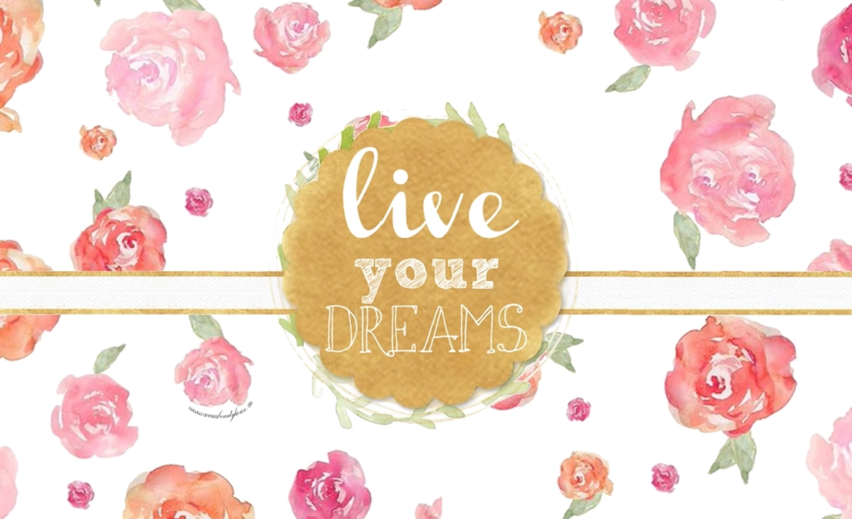 Live your dreams - Smartphone Wallpaper Top Picture