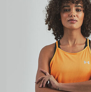 Orange Ladies Vest