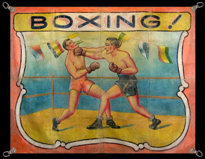 Climbing My Family Tree: Athletic Show Boxing Poster
