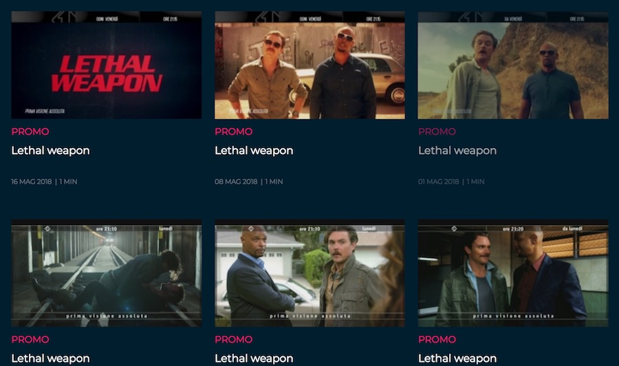 Canzone Pubblicità Lethal Weapon Serie TV Tutte le Colonne Sonore