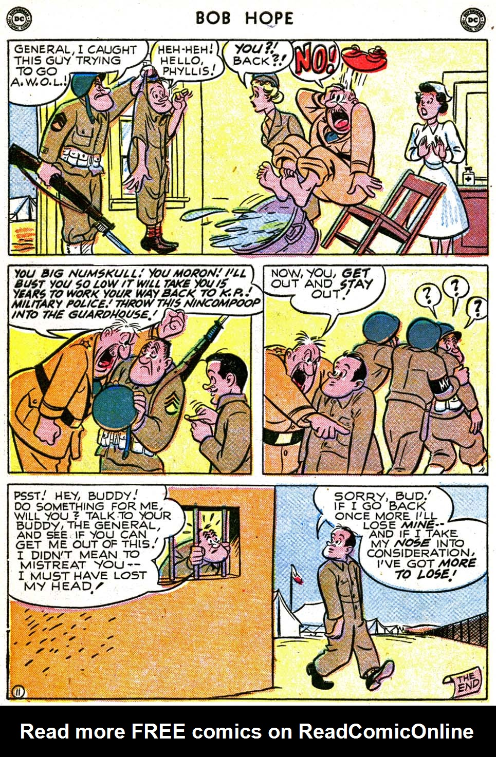 The Adventures of Bob Hope issue 8 - Page 48