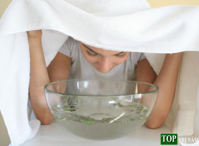 Trị nám bằng cách xông hơi thảo dược siêu hiệu quả tại nhà
