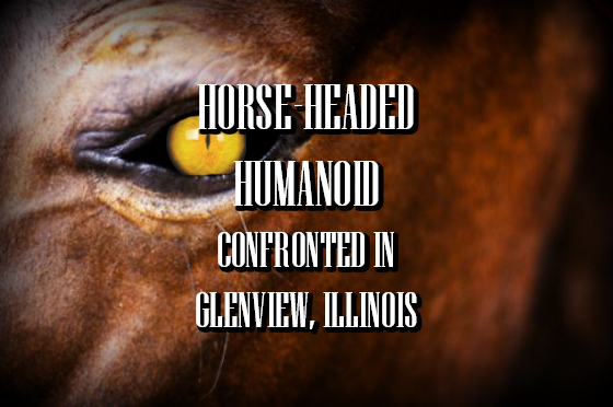 Horse-Headed Humanoid Confronted in Glenview, Illinois
