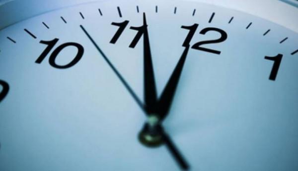 بدأت فلسطين، العمل بالتوقيت الصيفي تقديم 60 دقيقة