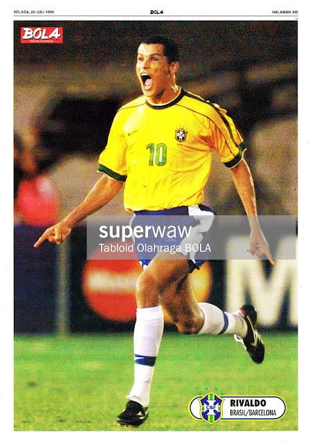 RIVALDO BRASIL 1998