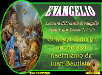 Resultado de imagen para EN los días de Herodes, rey de Judea, había un sacerdote de nombre Zacarías, del turno de Abías,